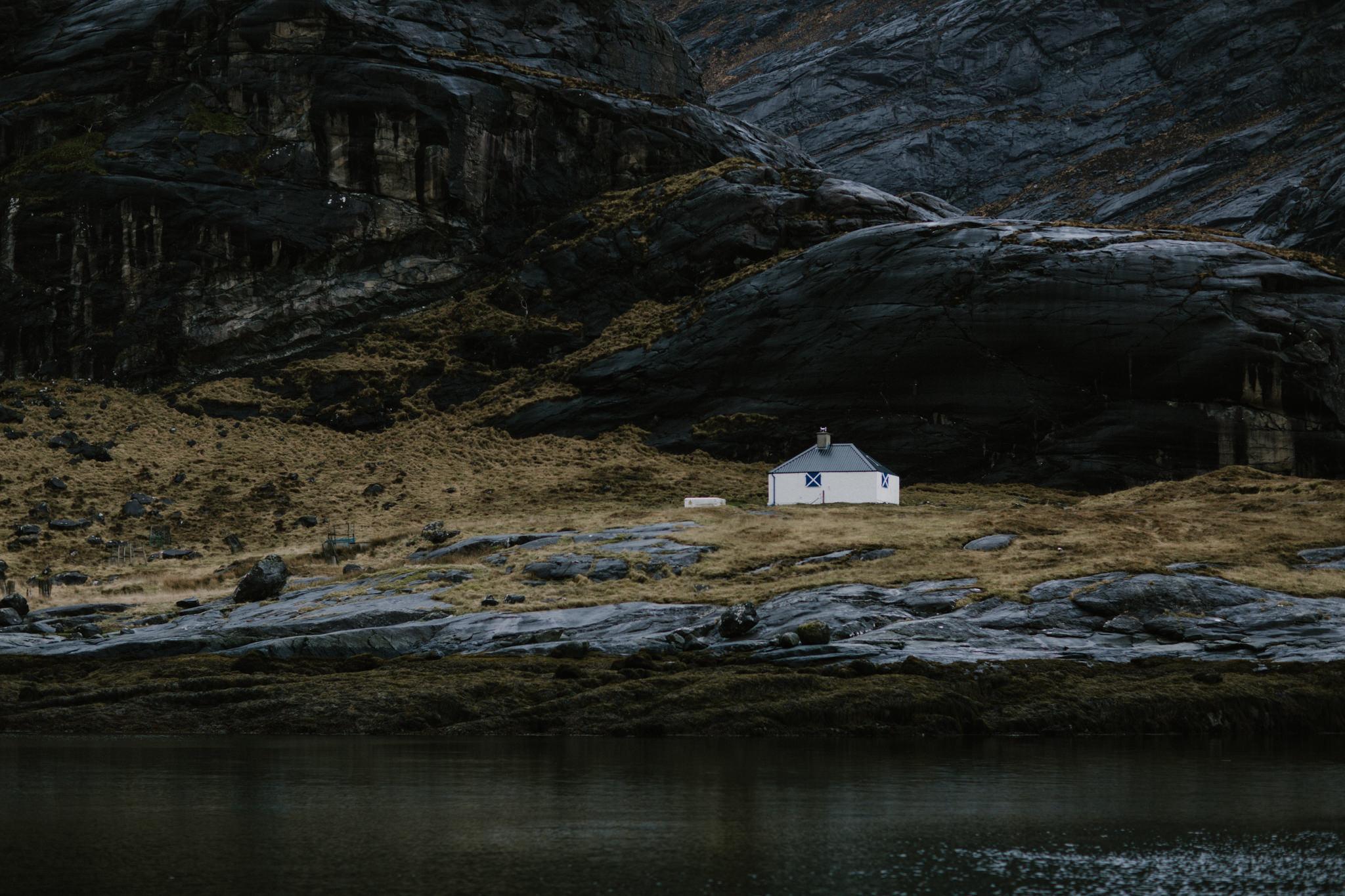 River and Fern - Isle Of Skye Elopement -Scotland Wedding Photog